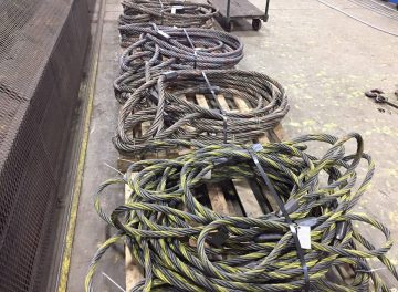 Wire Slings before Shipping