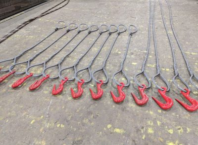 Wire Slings of various sizes